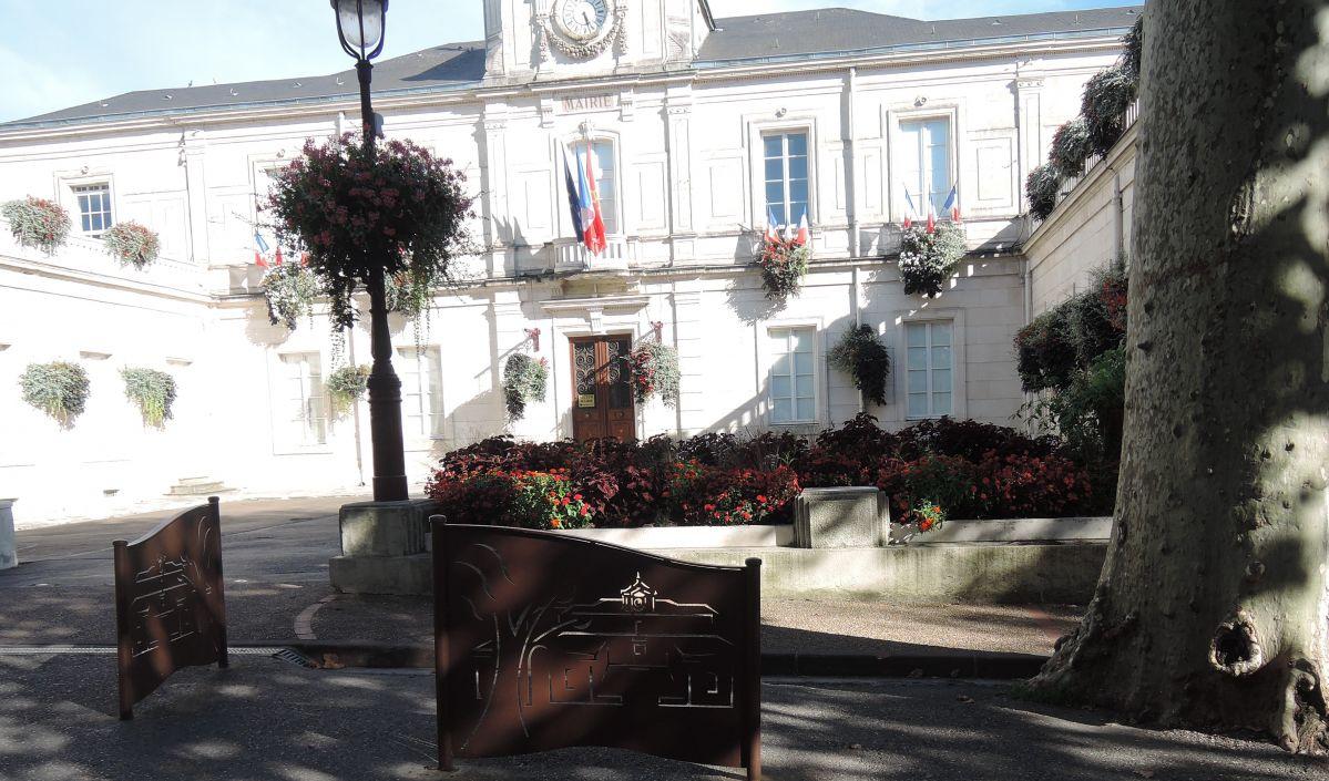 mairie fleurie